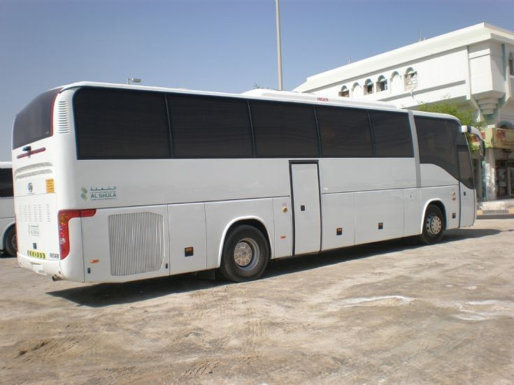 Higer V92 coach in Dubai