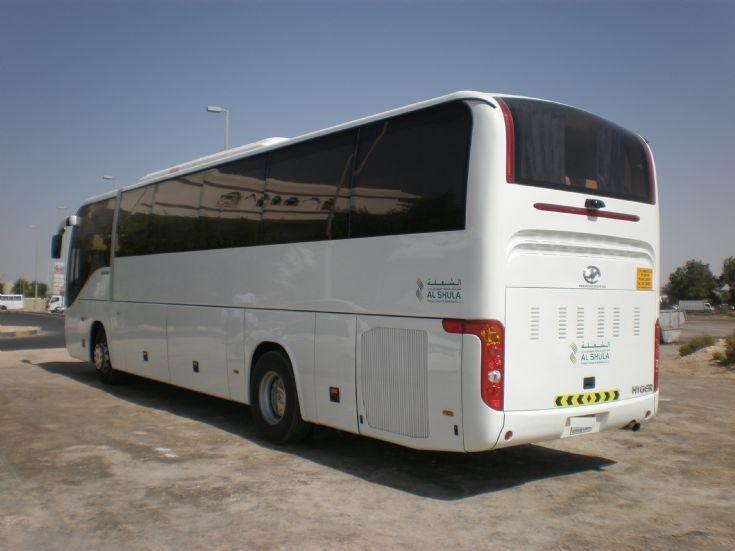 Higer V92 in Dubai, UAE