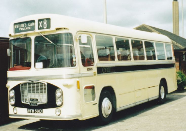 Preseved Crosville Bristol RE 'Coach'