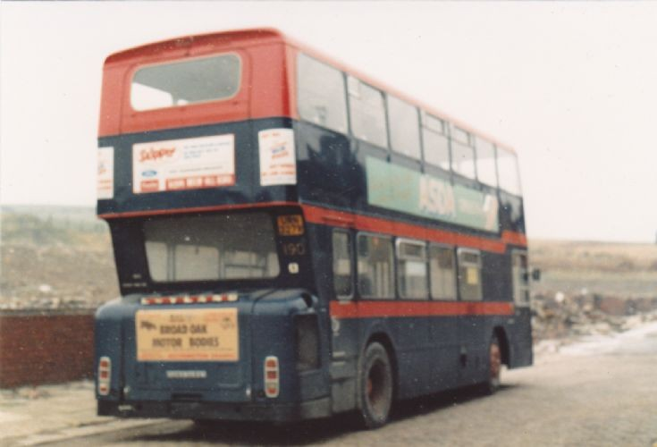 Accrington Atlantean 190 (Rear View)