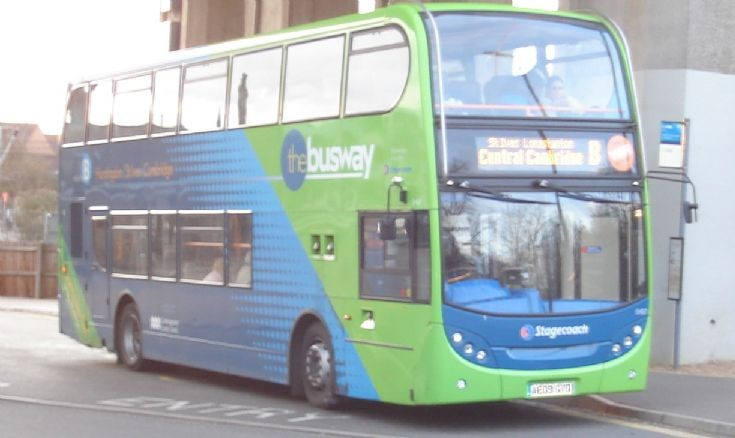 Cambridgeshire Busway Service