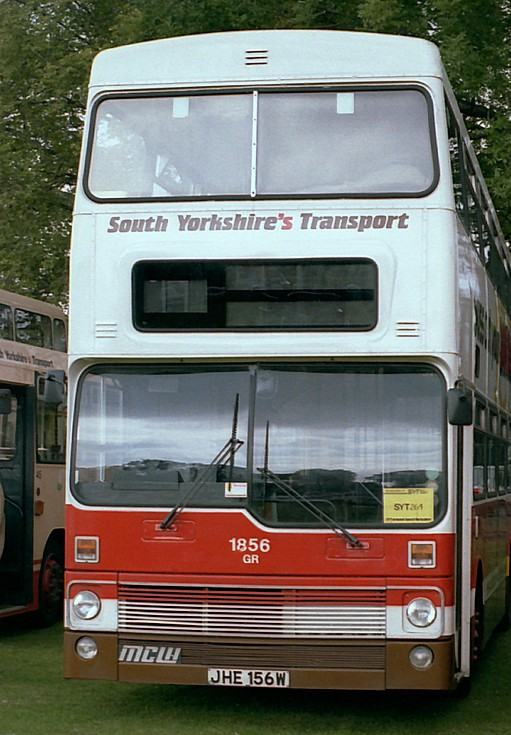 South Yorkshire Metrobus in 1986