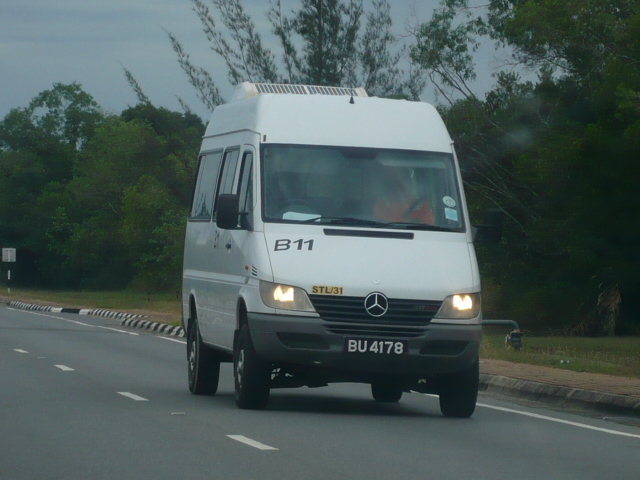 Mercedes Sprinter 4wd mini bus.