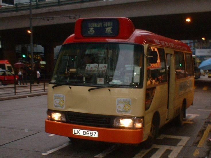Hong Kong public light bus