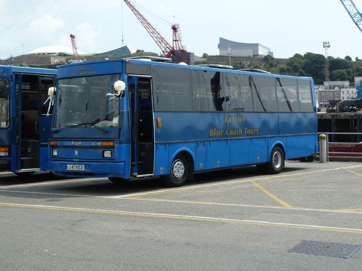 Tantivy Blue Coach Leyland