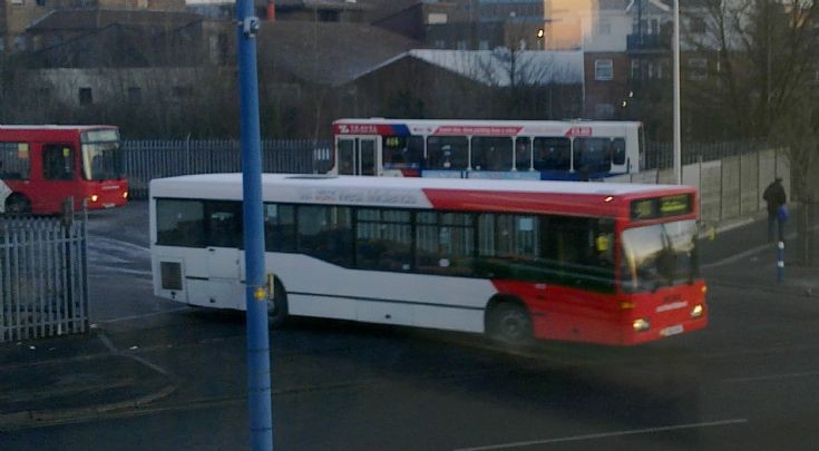 West Bromwich Bus Garage