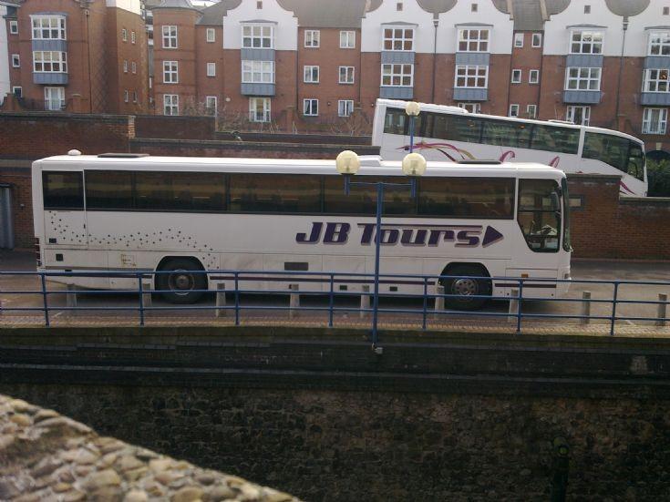 JB Tours Dennis and Irazar Scania