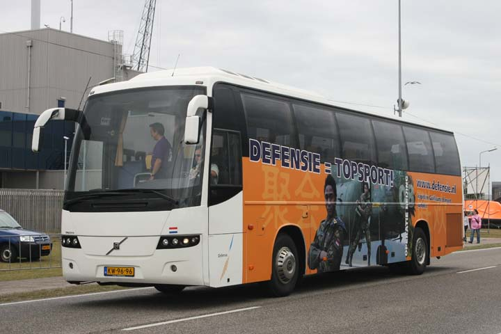 Dutch Ministry of Defense Volvo Tour Coache
