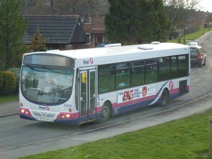 First Volvo bus in Sheffield