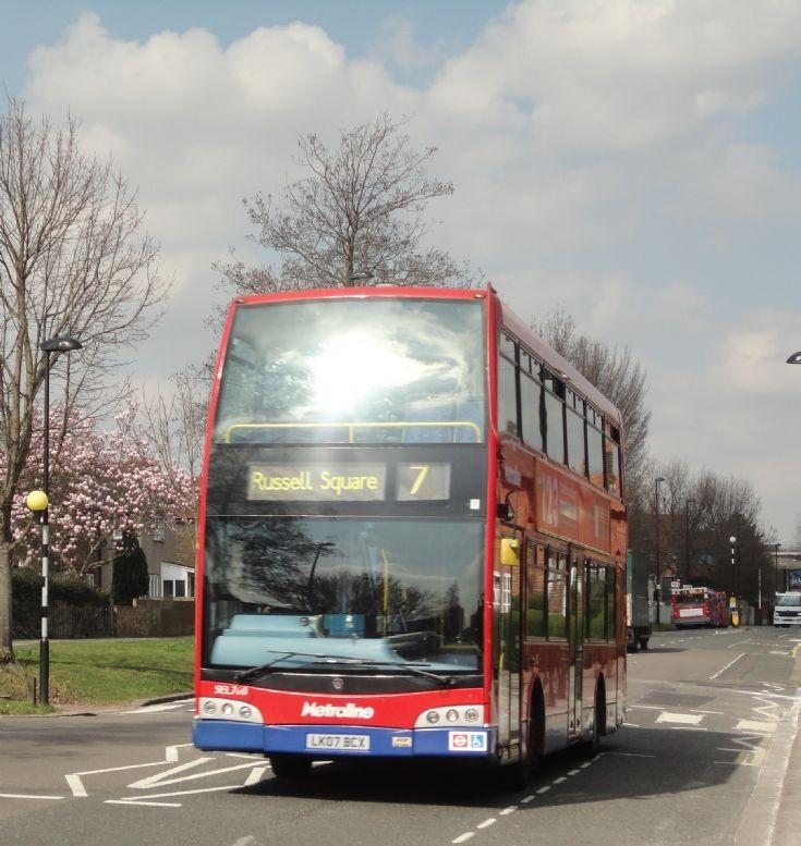 London Bus Routes : The 7