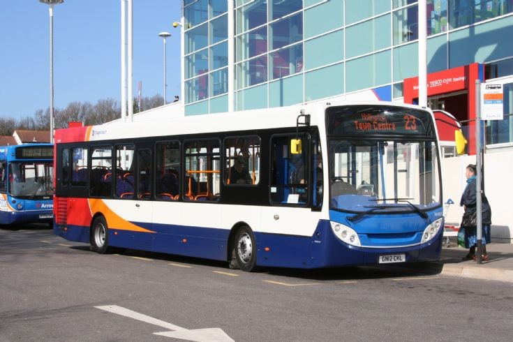 Stagecoach in Hastings brand new bus