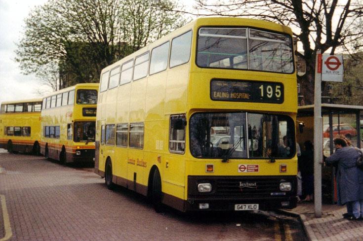 Big Yellow Leyland Olympian G47XLO