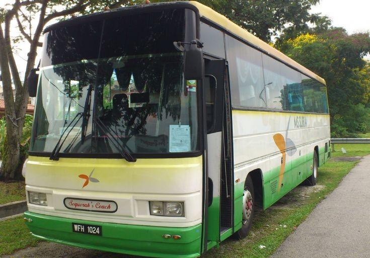 MS Suria Transport & Tours bus