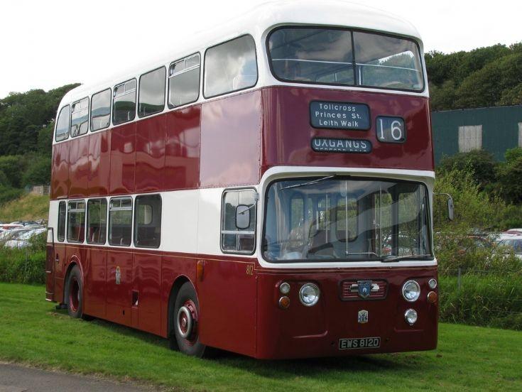 Edinburgh Atlantean bus