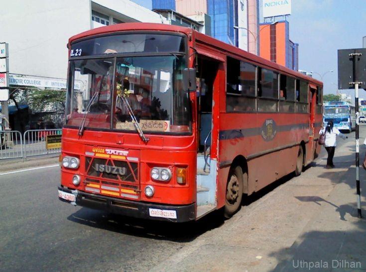 SLTB Wesco ISUZU Bus