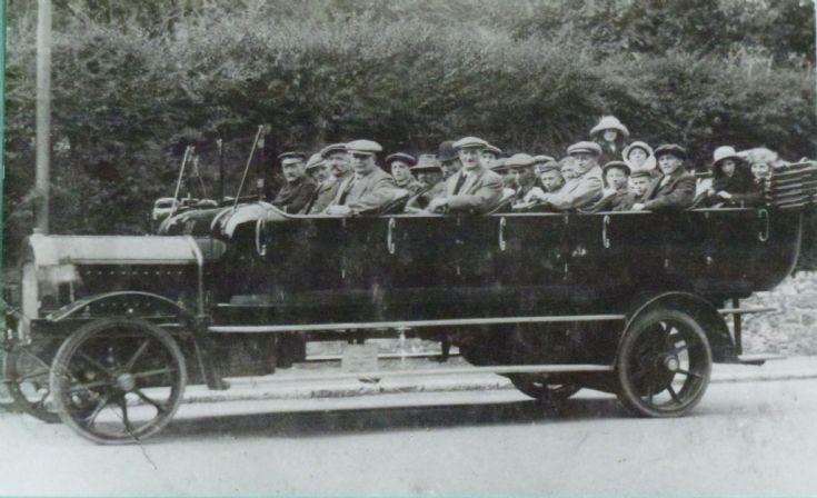 1920 Charabanc outing