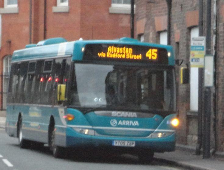 Arriva Midlands Scania bus