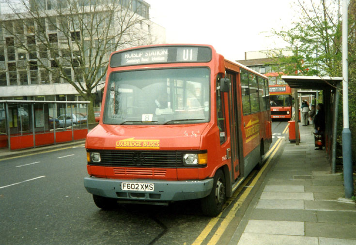 Mercedes Benz mini bus - Uxbridge Buses