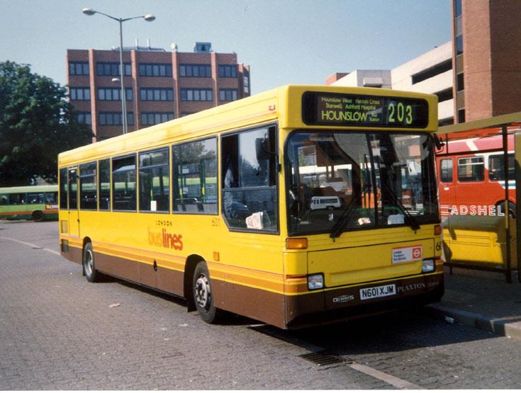 Busline Dennis Dart / Plaxton