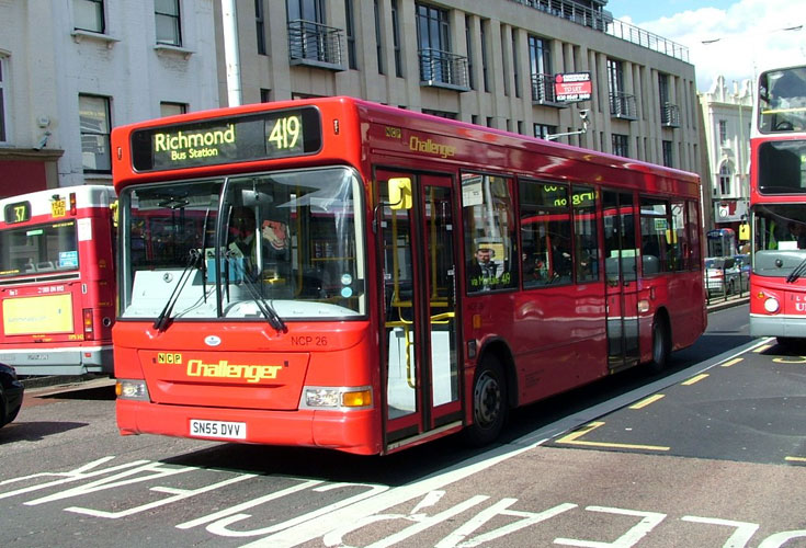 NCP Challenger Dennis Dart SLF midi bus
