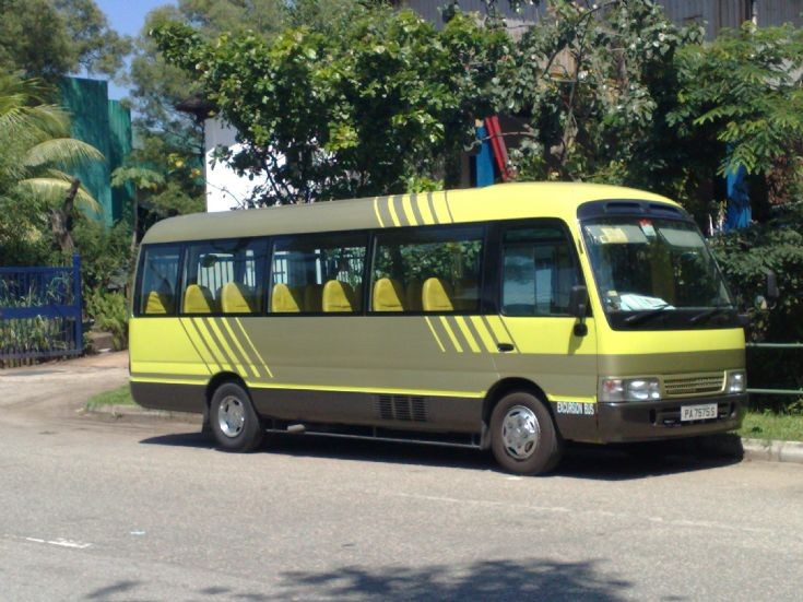 Toyota Coaster HR D