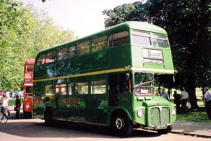 Photo of Metrobus double decker AEC Routemaster