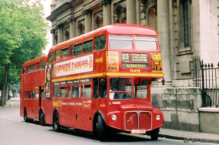 Photo of 1966 built AEC Routemaster bus