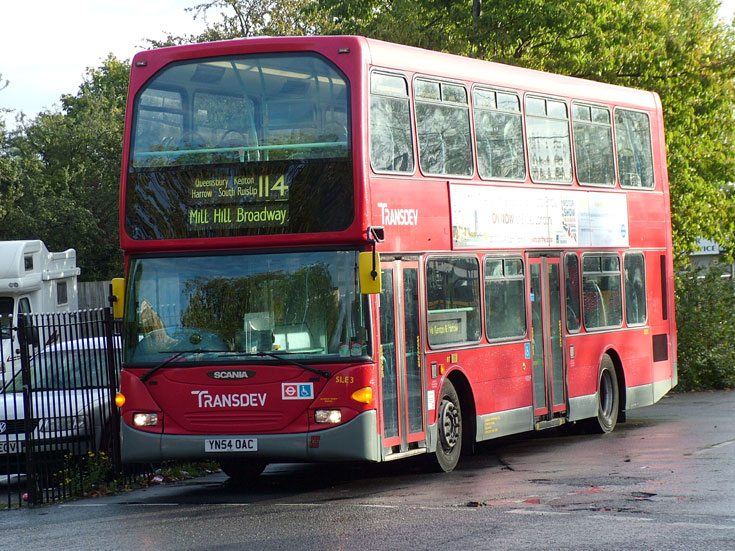 Picture of Scania Omnidekker double deck bus