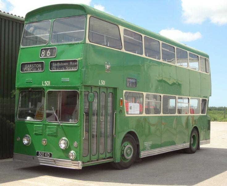 Liverpool City Transport L501