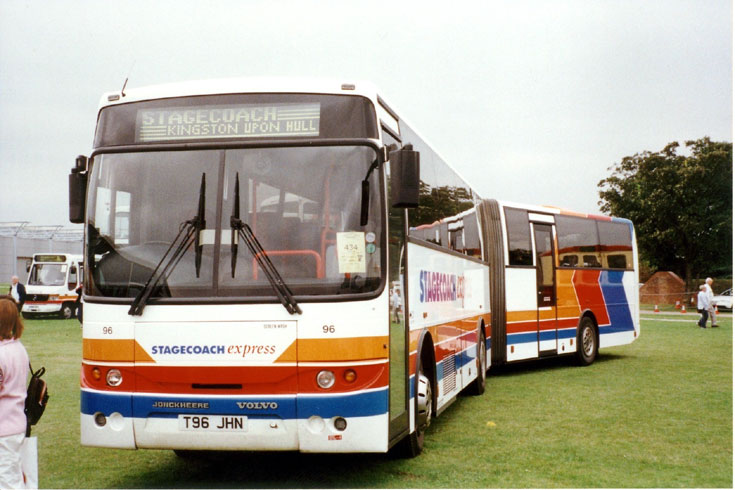 Picture of Volvo B10MA articulated bus