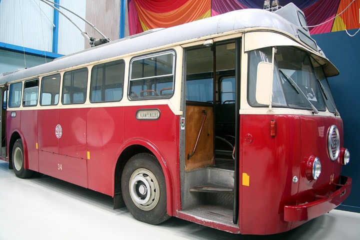 NESA trolley bus