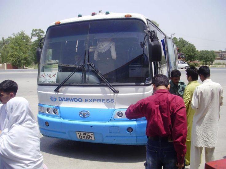 Bus and Coach Photos - Daewoo Express (stan)