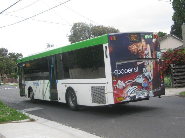 567 High Street via Northcote Scania Bus.
