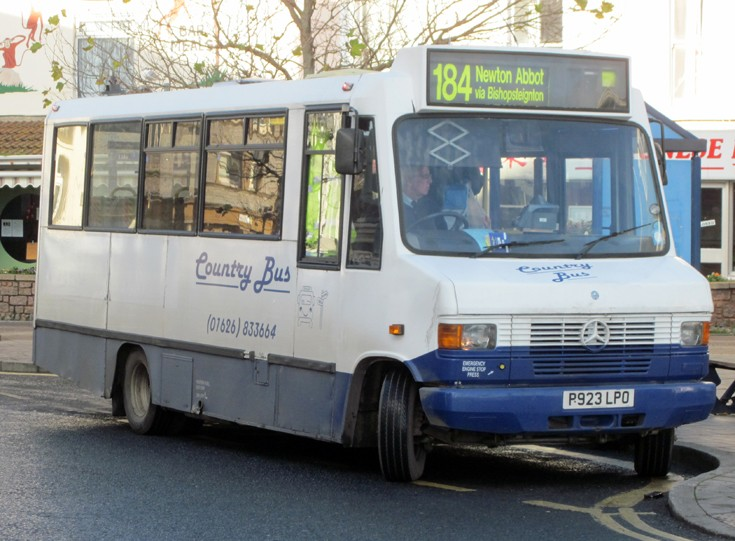Country bus in Teignmouth