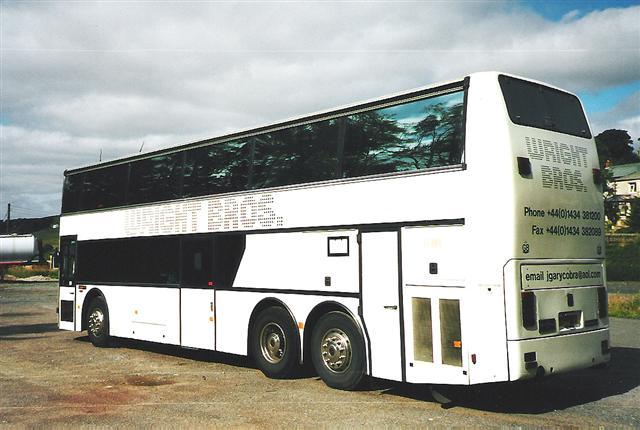 Wright Bros Band Bus