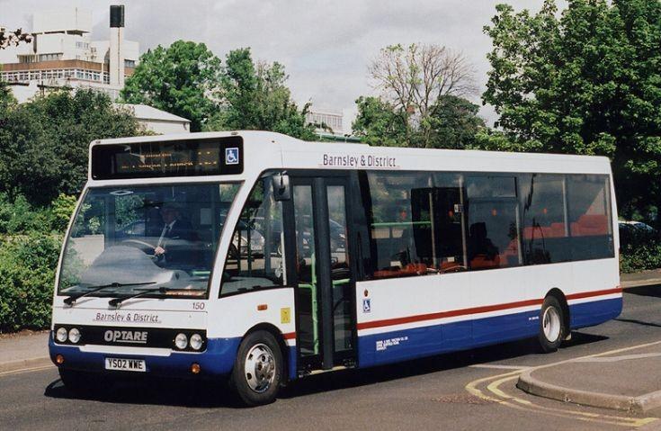Barnsley Optare bus