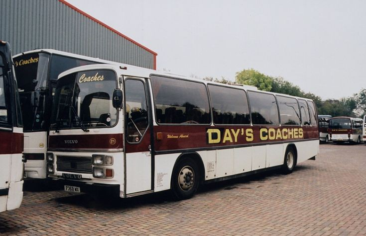 Volvo / Plaxton of Day's Coaches