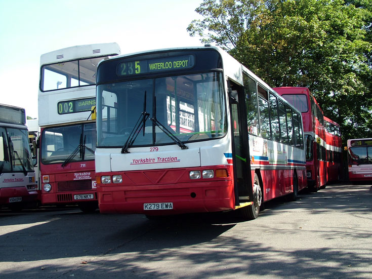 Scania K93CRB single deck bus