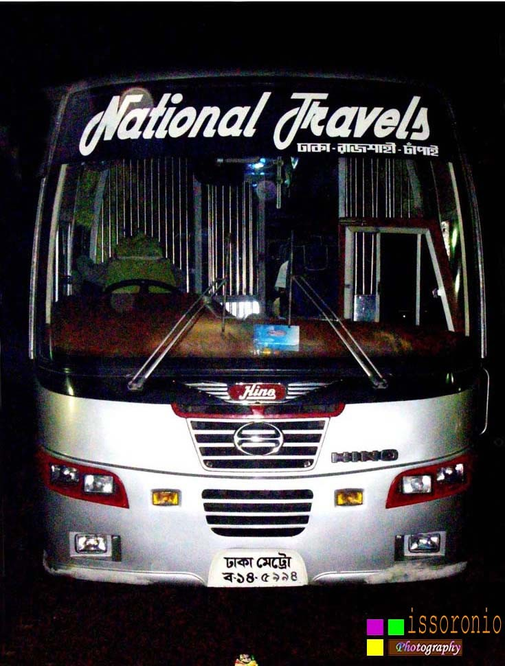 HINO AK 1J Uro bus in Bangladesh