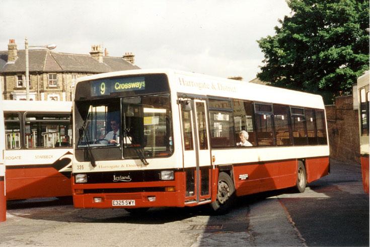 Leyland Lynx bus E325SWY