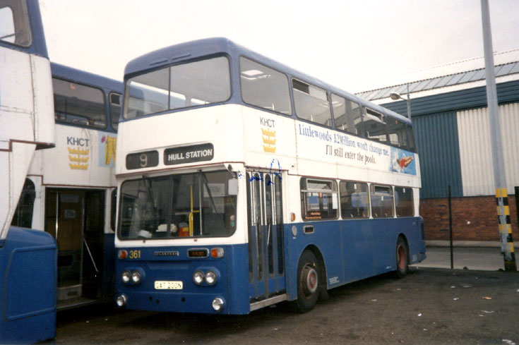 Leyland Atlantean double deck bus