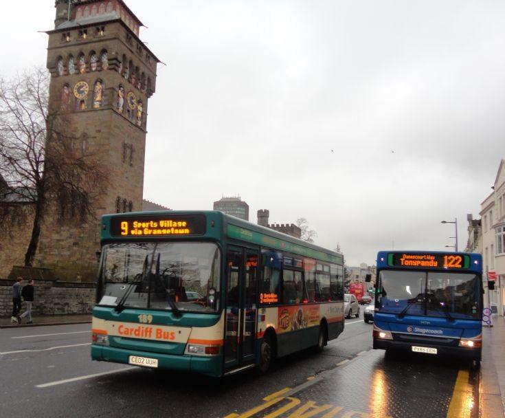 Cardiff 189 & Stagecoach 34754
