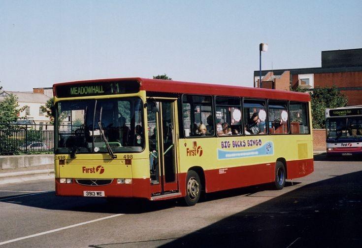 Mainline bus 498