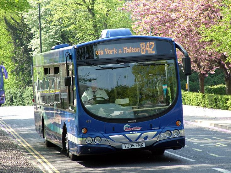 Yorkshire Coastliner Volvo B7RLE bus