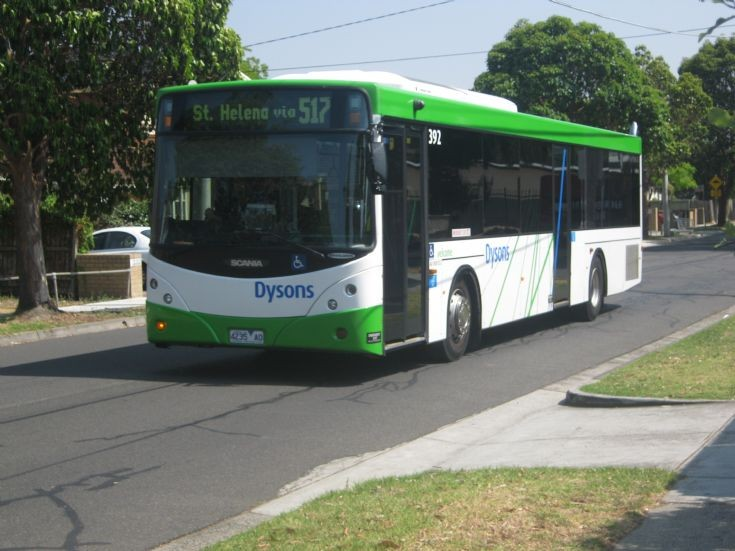 517 St Helena via Greensborough Scania Bus.