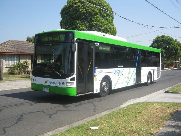 567 High Street via Northland Volvo Dysons Bus.