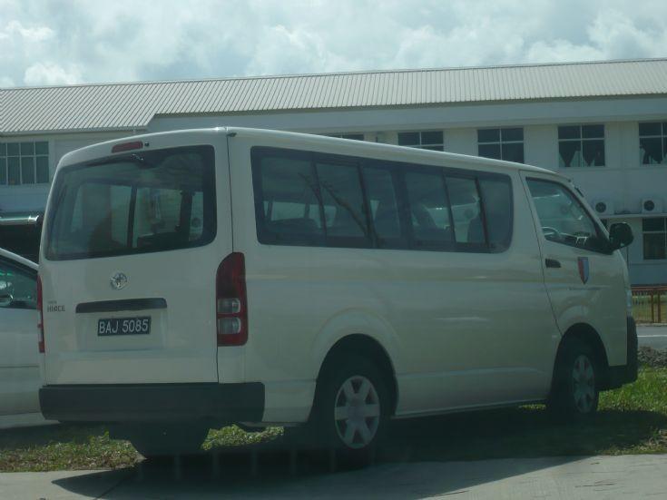 SMS Toyota Hiace mini bus