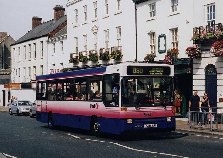 First Dennis / Plaxton bus