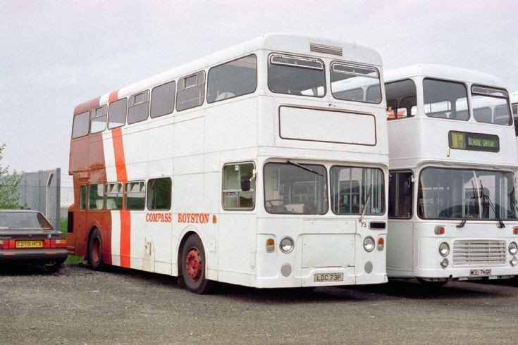 Daimler Fleetline Cleveland Transit H73 (LDC73P)